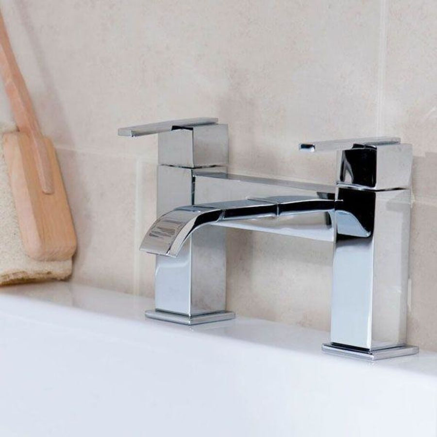 Cassellie Epic Bath Filler Tap - Chrome - EverythingBathroom.co.uk