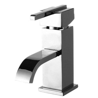 Cassellie Epic Mono Basin Mixer Tap with Click Clack Waste - Chrome - EverythingBathroom.co.uk