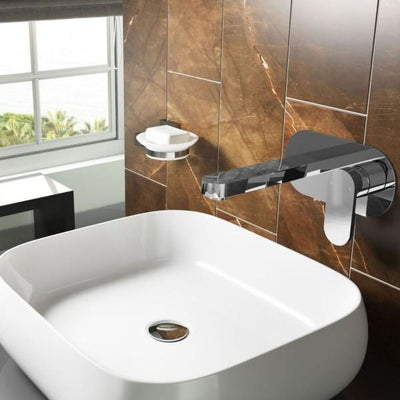 Cassellie Filo Mono Basin Mixer Tap - Chrome - EverythingBathroom.co.uk