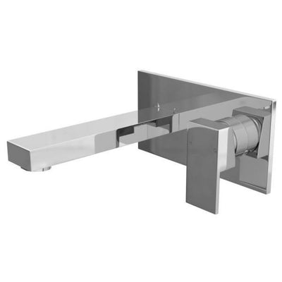 Cassellie Form Single Lever Basin Mixer Tap - Chrome - EverythingBathroom.co.uk