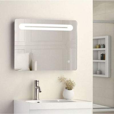 Cassellie LED Bathroom Mirror - 650mm Wide - Touch Sensitive - EverythingBathroom.co.uk