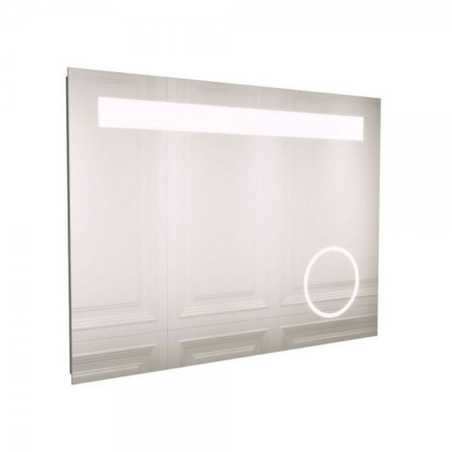 Cassellie LED Bathroom Mirror with Magnifying Mirror and Infrared Sensor
