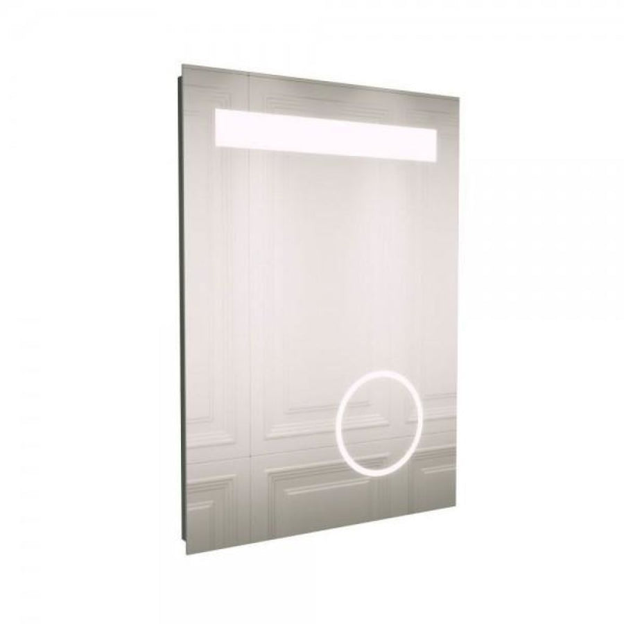 Cassellie LED Bathroom Mirror with Magnifying Mirror