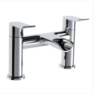 Cassellie Lou Bath Filler Tap - Chrome - EverythingBathroom.co.uk