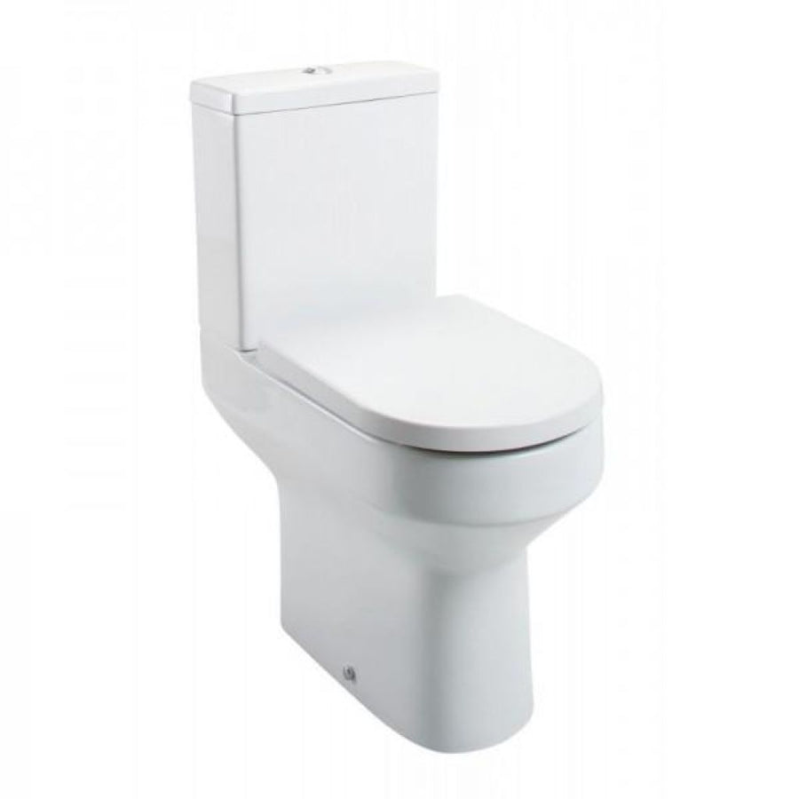 Cassellie Montego Comfort Height Close Coupled Pan & Cistern - EverythingBathroom.co.uk