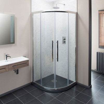 Cassellie Ocho Quadrant Shower Enclosure - EverythingBathroom.co.uk