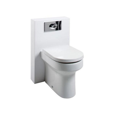 Cassellie Polymarble Shroud Unit with Montego Back to Wall Pan and Cistern - EverythingBathroom.co.uk