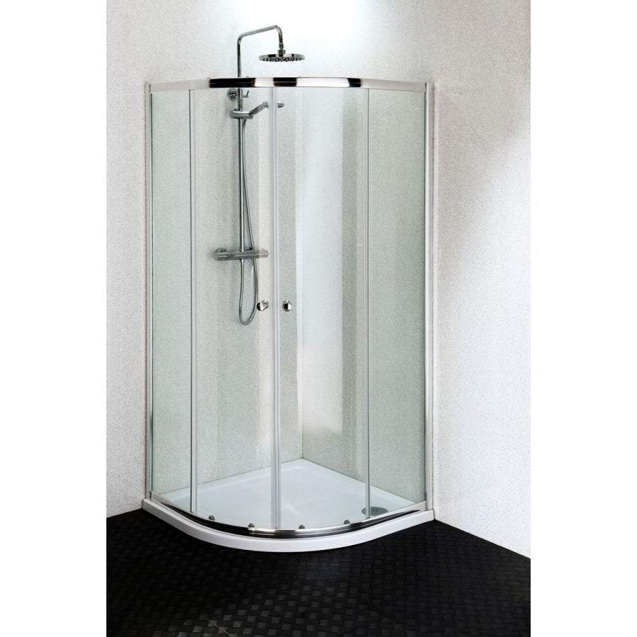 Cassellie Quatro Quadrant Shower Enclosure - Chrome