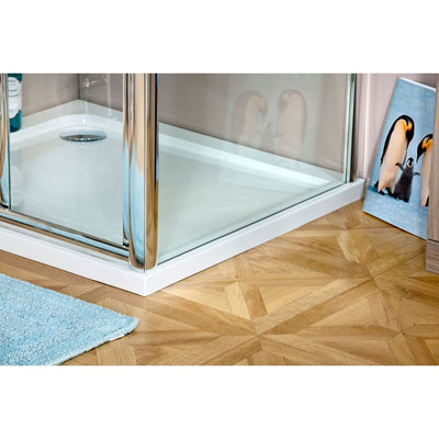 Cassellie Seis Shower Door Side Panel - 6mm Glass - EverythingBathroom.co.uk