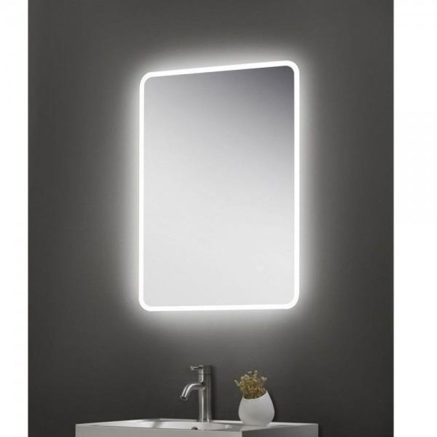 Cassellie Touch Sensitive LED Universal Bathroom Mirror - Landscape or Horizontal Fitting