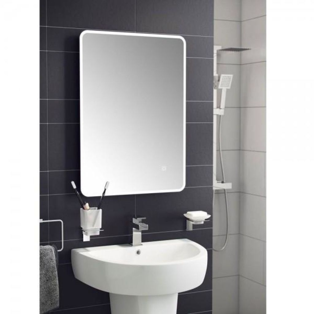 cassellie touch sensitive led universal bathroom mirror 16307
