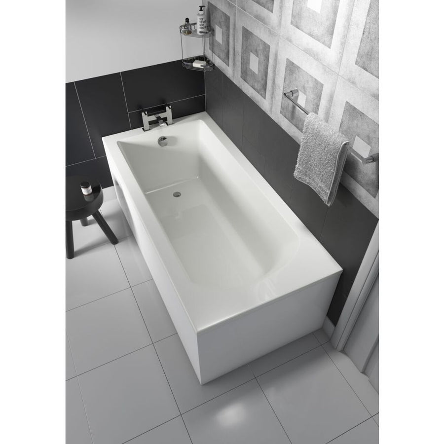 Cassellie Uno Single Ended 1700 x 750mm Bath - EverythingBathroom.co.uk