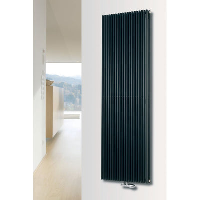 CORUS DUO VERTICAL, SUPPLIED WITH CENTRAL CONNECTION - EverythingBathroom.co.uk