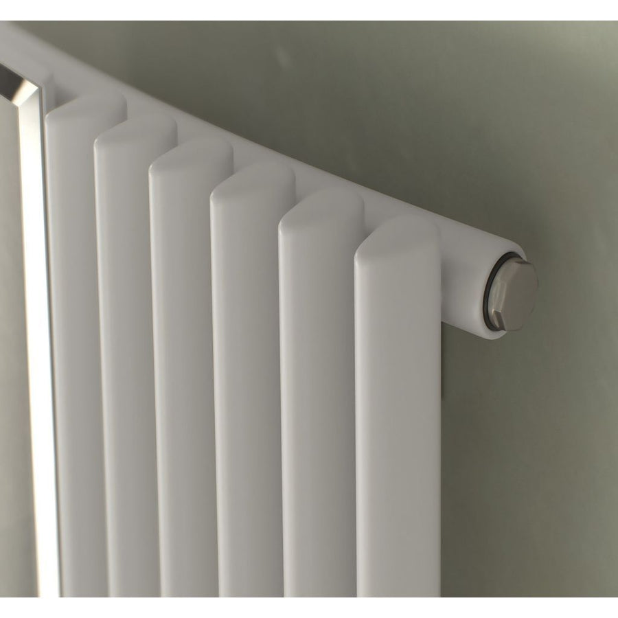 CORUS MIRROR RADIATOR - VERTICAL - EverythingBathroom.co.uk