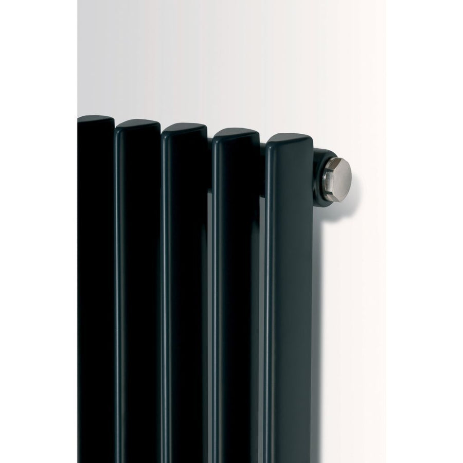 CORUS SINGLE VERTICAL, SUPPLIED WITH CENTRAL CONNECTION - EverythingBathroom.co.uk