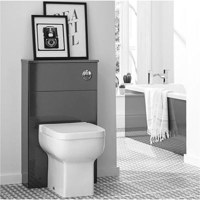 Ikon Furniture Pack - Wall Mounted Drawer Unit Wc Unit And Btw Wc Everythingbathroom.co.uk