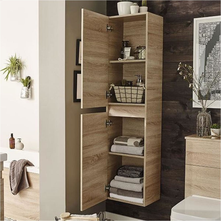 Ikon Wall Mounted Tall Storage Unit