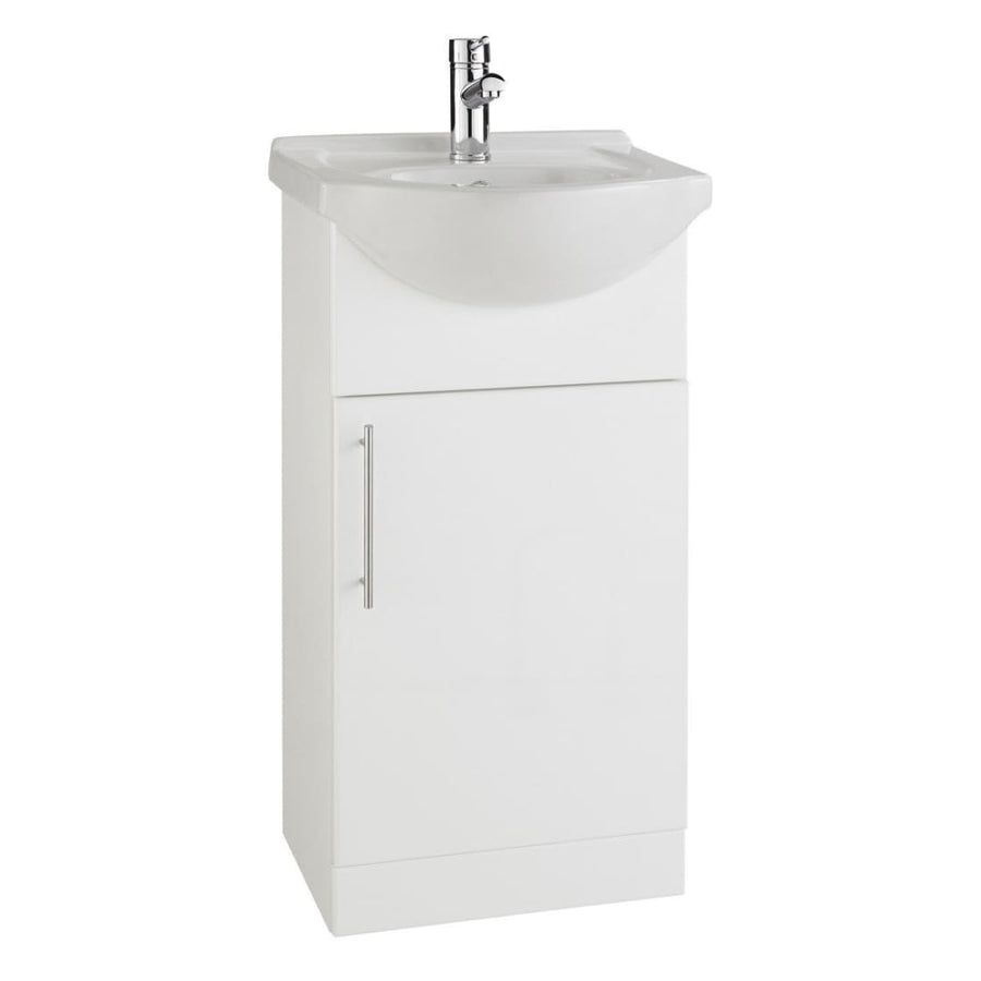 Impakt Furniture Pack - Cabinet with Basin and Back to Wall Pan - Variable sizes available