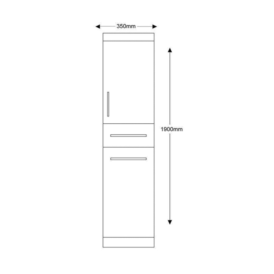 Impakt Tall bathroom Unit