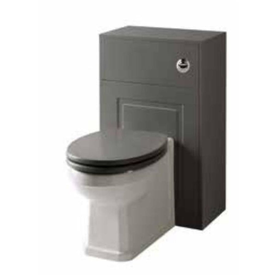 Kartell Astley 500mm WC Unit, with Back to Wall Pan & Toilet Seat