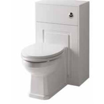 Kartell Astley 500mm WC Unit, with Back to Wall Pan & Toilet Seat - EverythingBathroom.co.uk