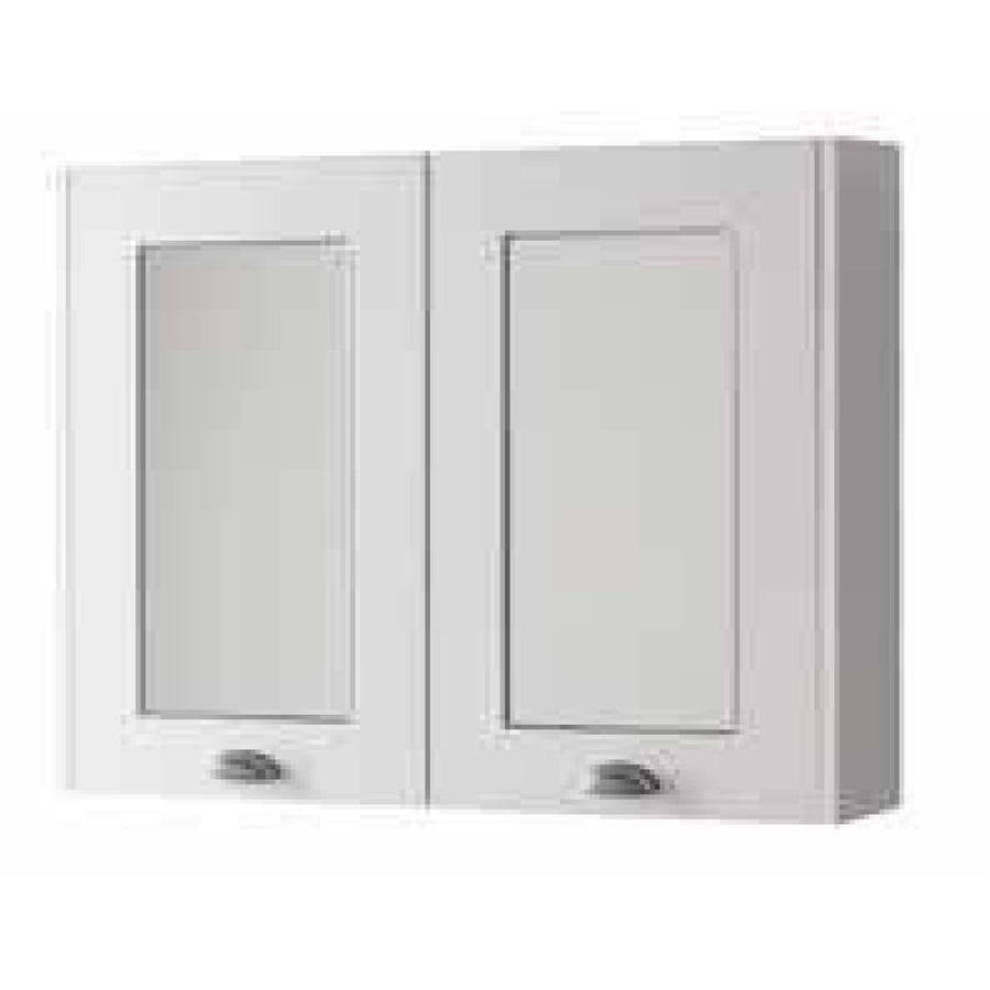 Kartell Astley - 800mm Bathroom 2 Door Mirror Cabinet