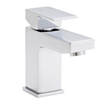 Kartell Element Mono Basin Mixer With Click Waste - EverythingBathroom.co.uk