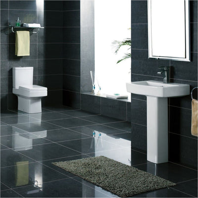 Kartell Embrace 4 Piece Bathroom Set, including Toilet Seat - EverythingBathroom.co.uk
