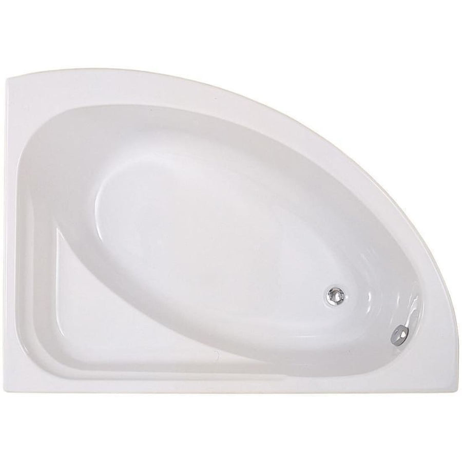 Kartell Formula Offset Corner Bath Left/Right Hand - EverythingBathroom.co.uk