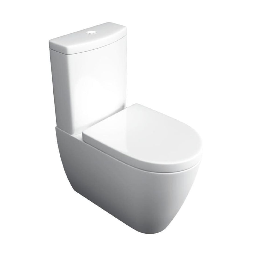 Kartell Genoa 4 Piece Bathroom Set, including Toilet Seat