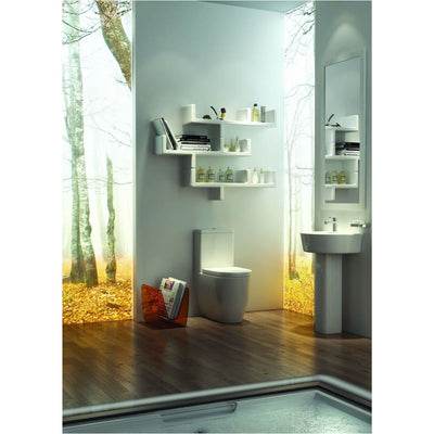 Kartell Genoa 4 Piece Bathroom Set, including Toilet Seat - EverythingBathroom.co.uk
