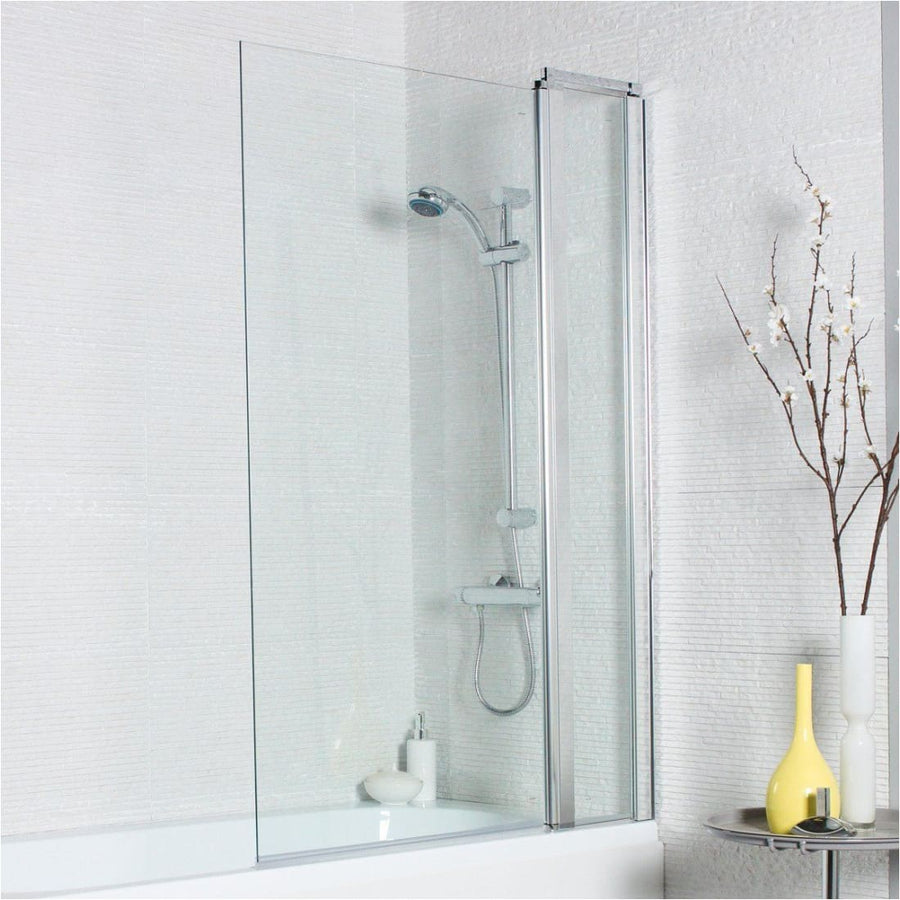 Kartell Koncept Straight Screen, Square Edge with Extension Panel