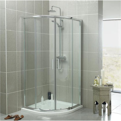 Kartell Kt35 Shower Trays Quadrant Trays Lh Everythingbathroom.co.uk