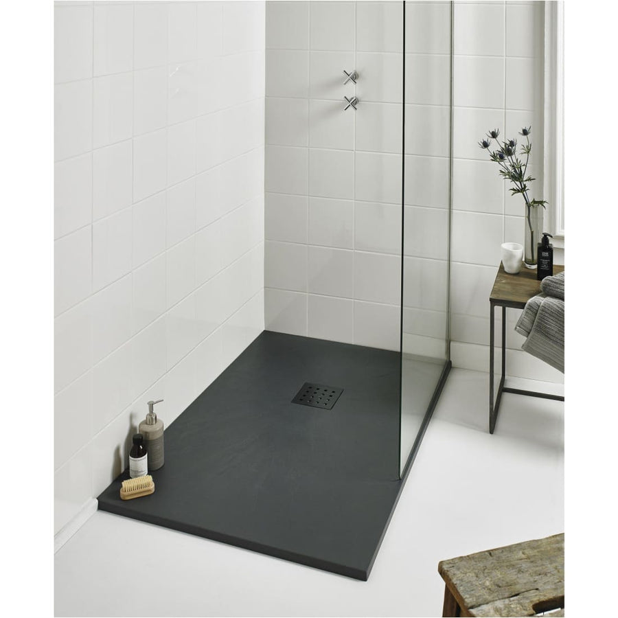 Kartell KT35 Slate Effect Shower Trays Rectangle Trays