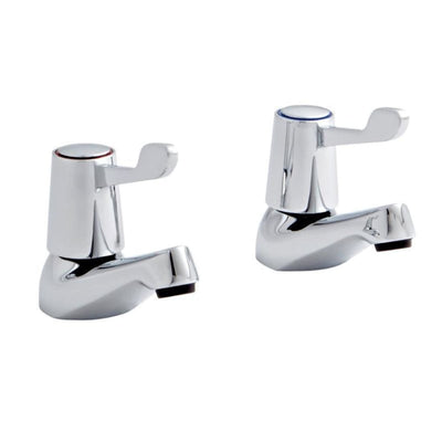 Kartell Leva Basin Taps - EverythingBathroom.co.uk