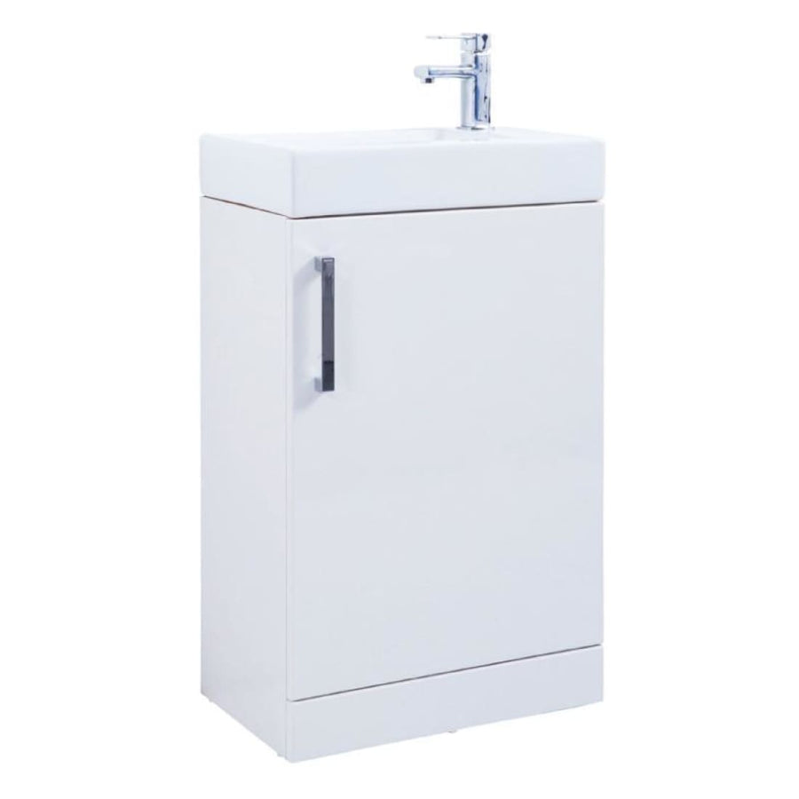Kartell Liberty Floor Standing Furniture Pack with back to wall  WC