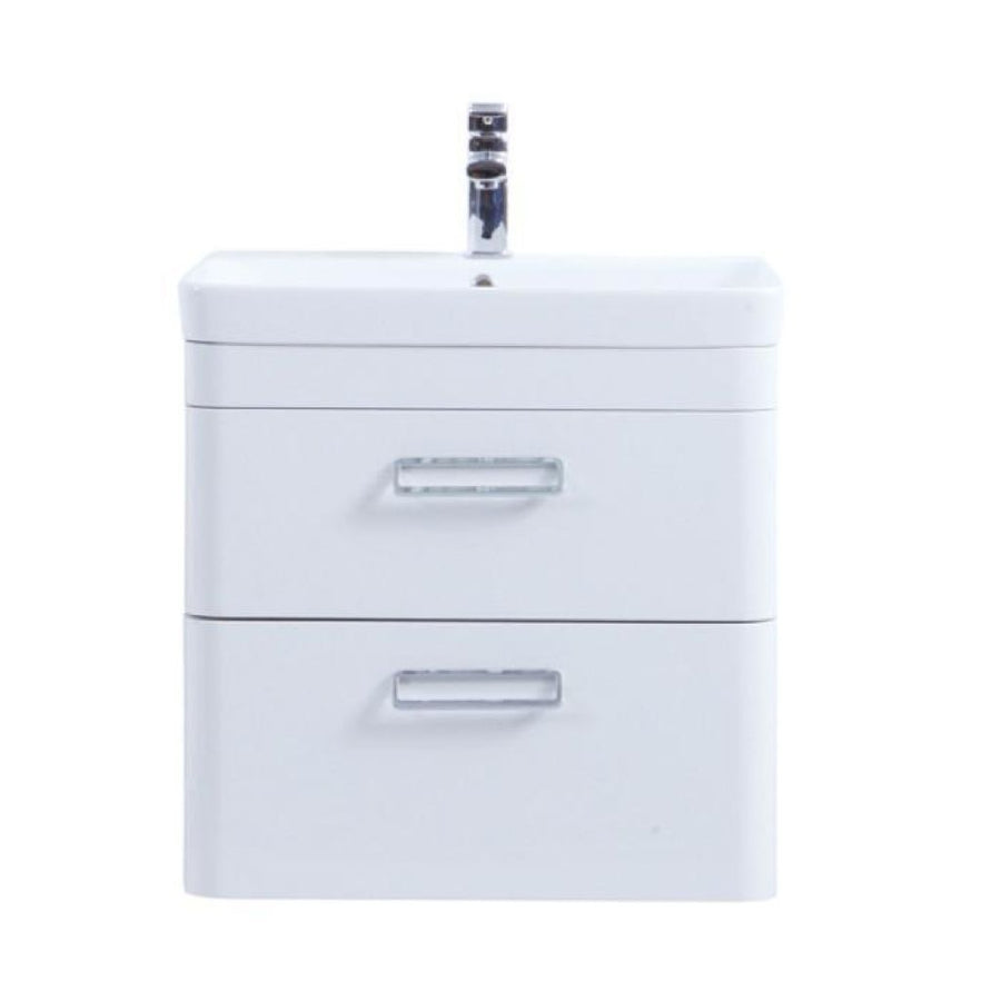 Kartell Metro Wall Hung Drawer Unit with Ceramic Basin
