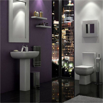 Kartell Options 4 Piece Bathroom Set, including Toilet Seat - EverythingBathroom.co.uk