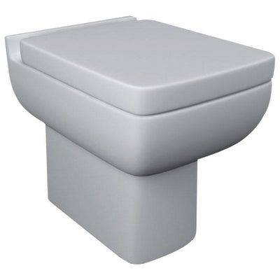 Kartell Options 600 Back To Wall WC with Soft Close Toilet Seat - EverythingBathroom.co.uk