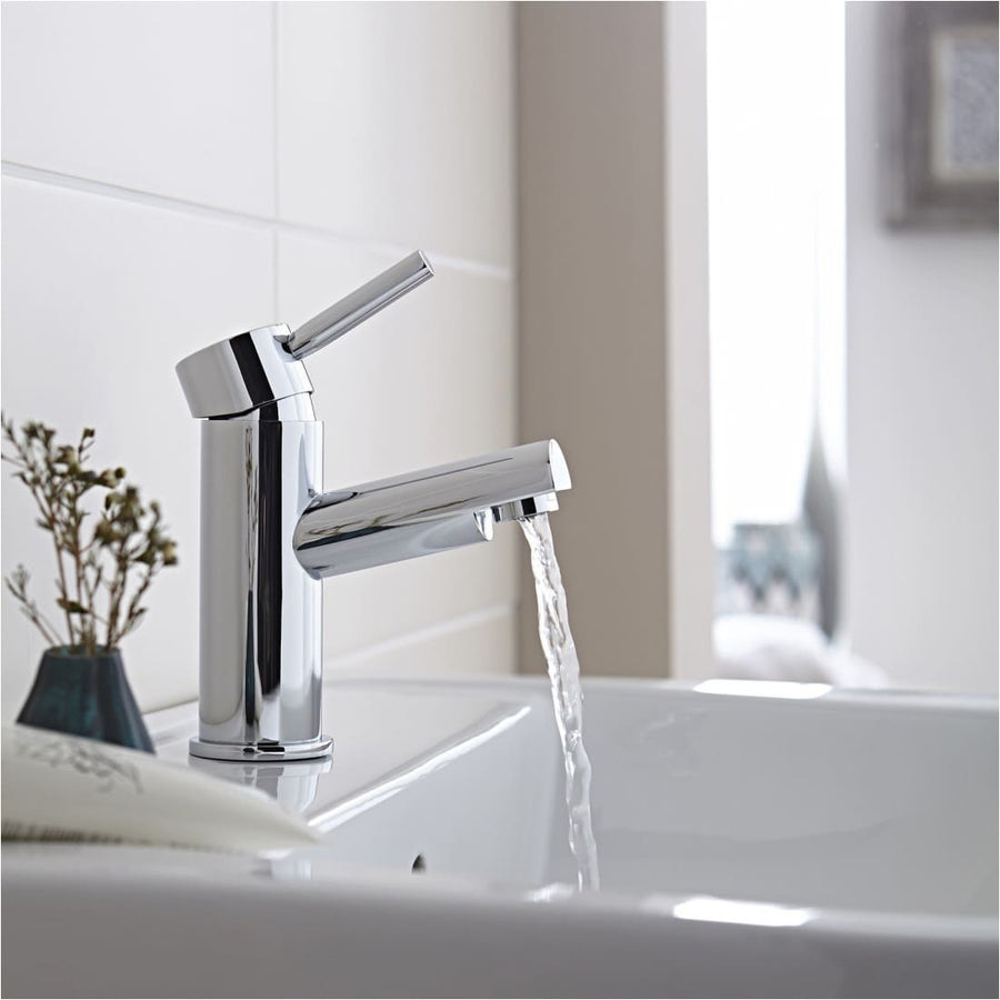Kartell Plan Mono Basin Mixer With Click Waste