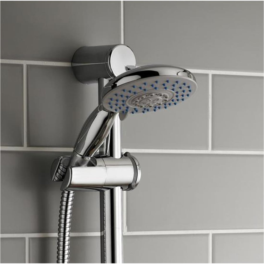 Kartell Plan Option 1 Thermostatic Concealed Shower with Adjustable Slide Rail Kit - EverythingBathroom.co.uk