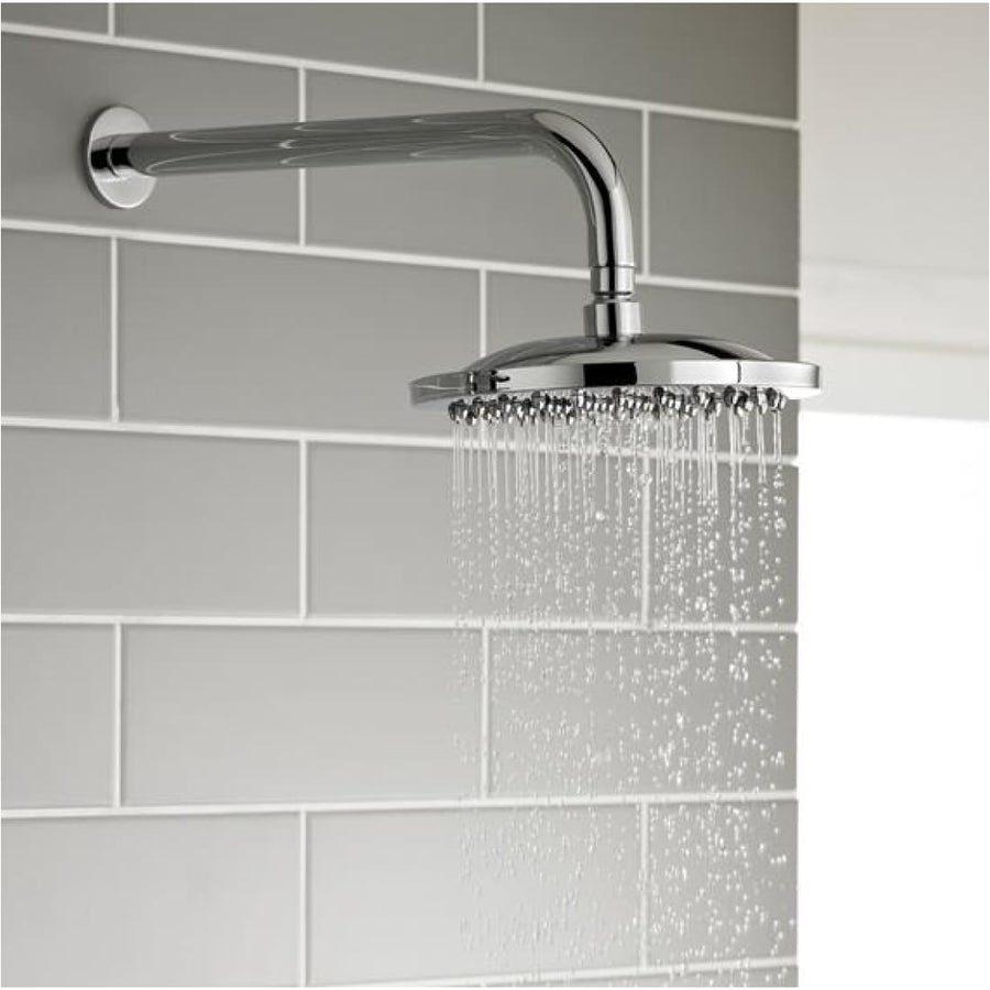Kartell Plan Option 2 Thermostatic Concealed Shower with Fixed Overhead Drencher