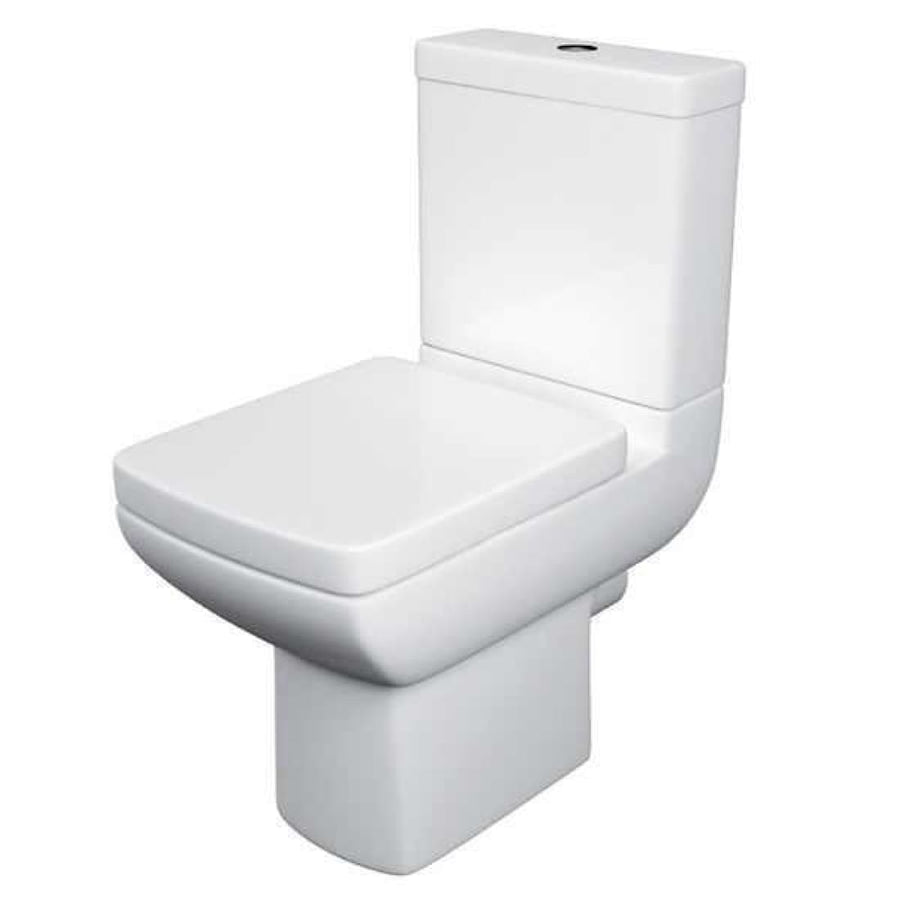 Kartell Pure 4 Piece Bathroom Set, including Toilet Seat