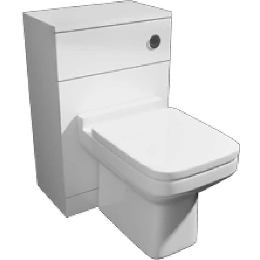 Kartell Pure 500mm WC Unit Set
