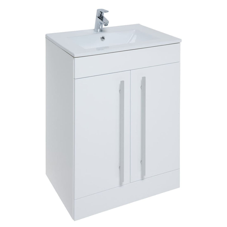 Kartell Purity Furniture Pack - Floor Standing Door Unit, Basin and WC - EverythingBathroom.co.uk