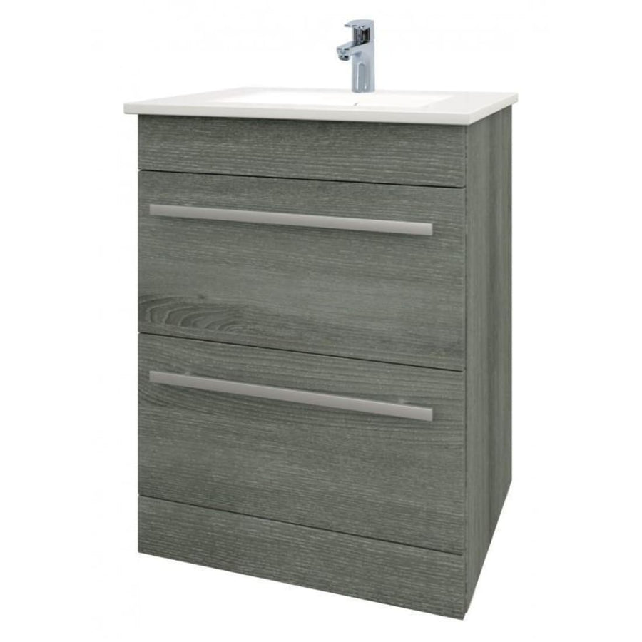 Kartell Purity Furniture Pack - Floor Standing Drawer Unit, Basin & WC - EverythingBathroom.co.uk