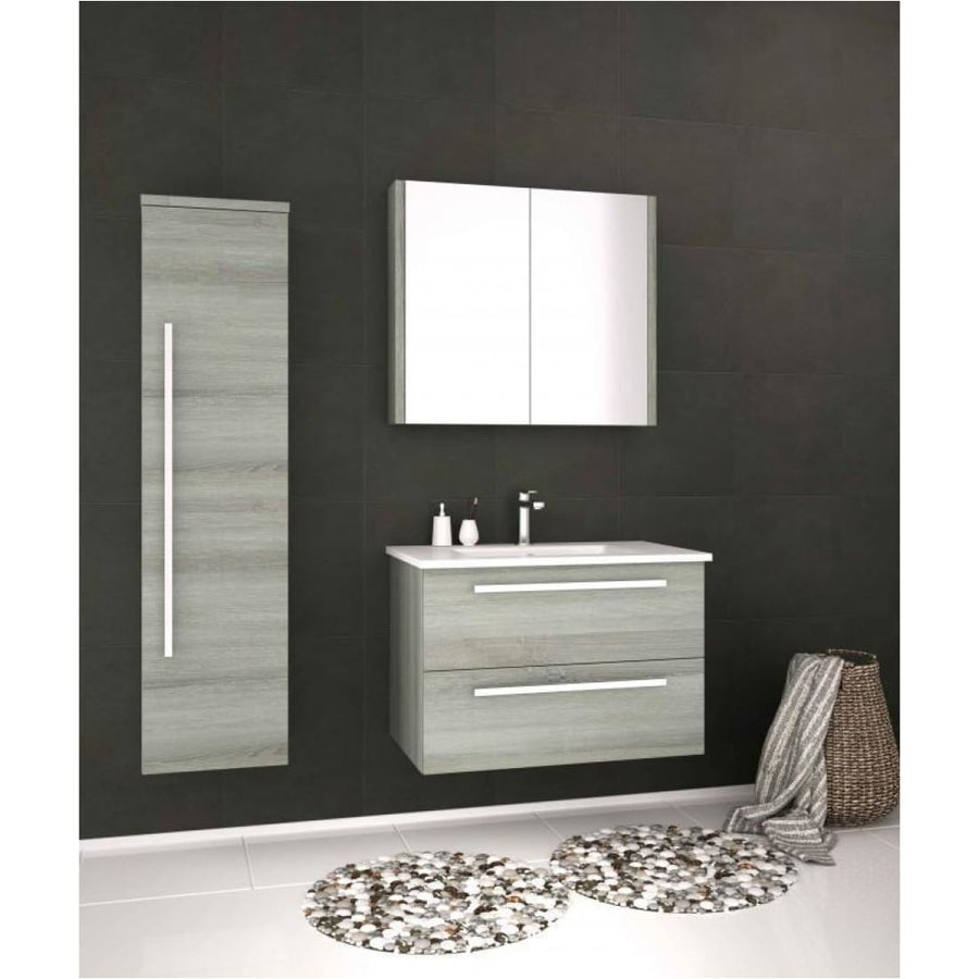 Kartell Purity Wall Mounted Drawer Unit & Basin - EverythingBathroom.co.uk
