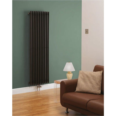 Kartell Radiator - Los Angeles Designer - Anthracite - EverythingBathroom.co.uk