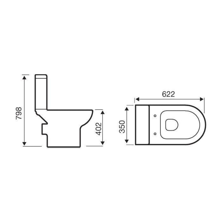 Kartell Ratio Close Coupled WC