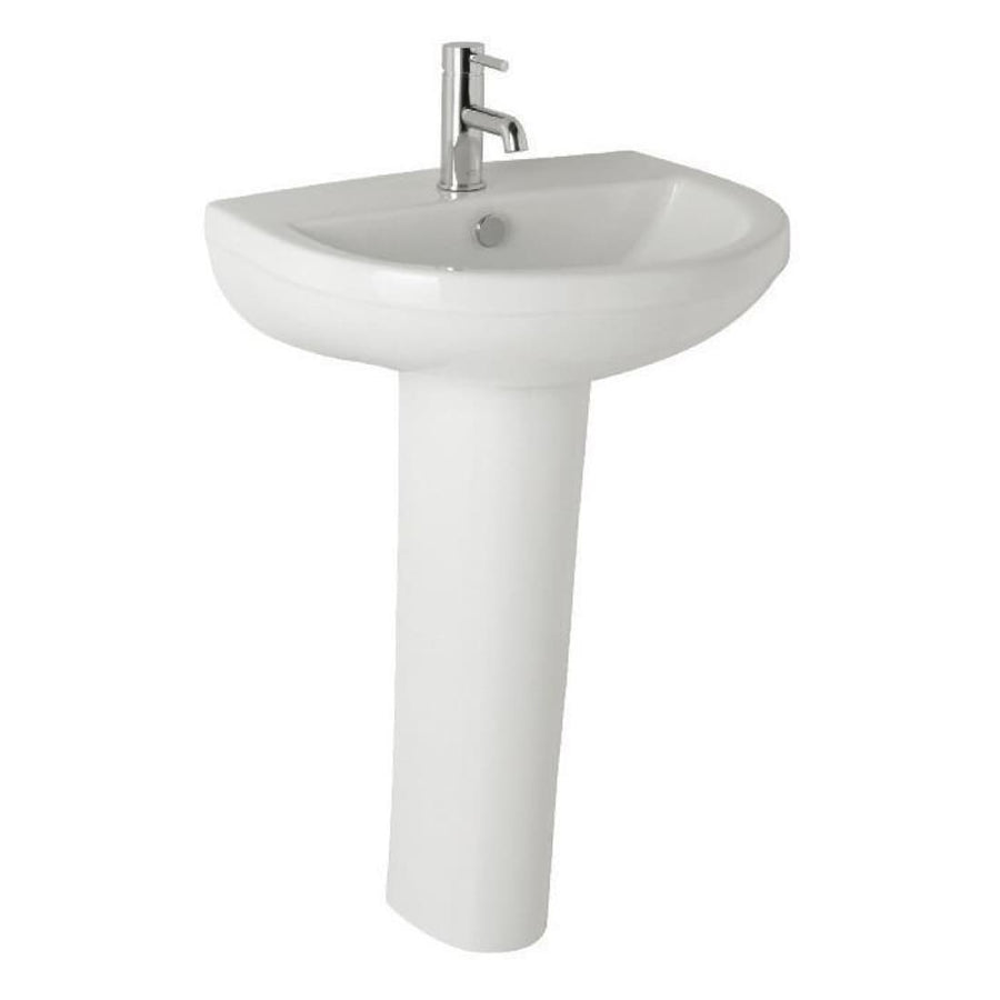 Kartell Revive 570mm 1th Basin and Pedestal